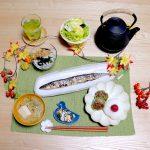 秋刀魚の塩焼きの一汁四菜定食